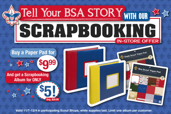 Scrapbookers This Is Your Deal Lake Minnetonka District Bsa