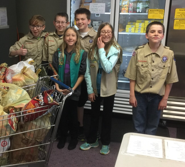 Troop 3327 Food Shelf2