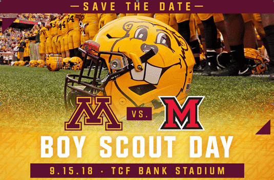 Boy Scout Day TCF FOOTBALL