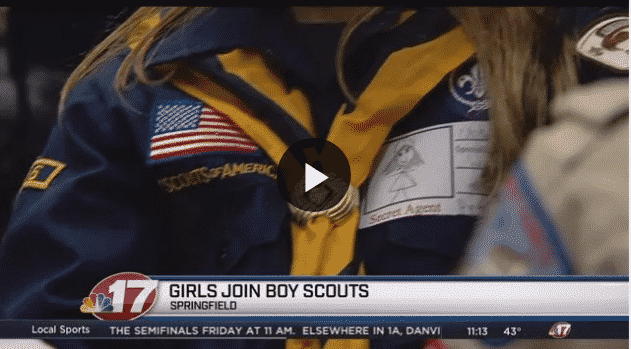 girls in scouting