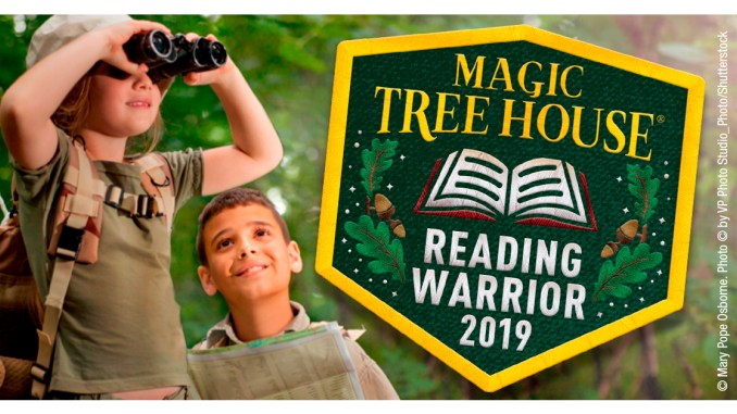 Scouts who become Magic Tree House Reading Warriors can earn a free patch