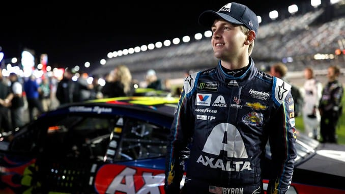 Eagle Scout professional driver will lead NASCAR's biggest race this weekend