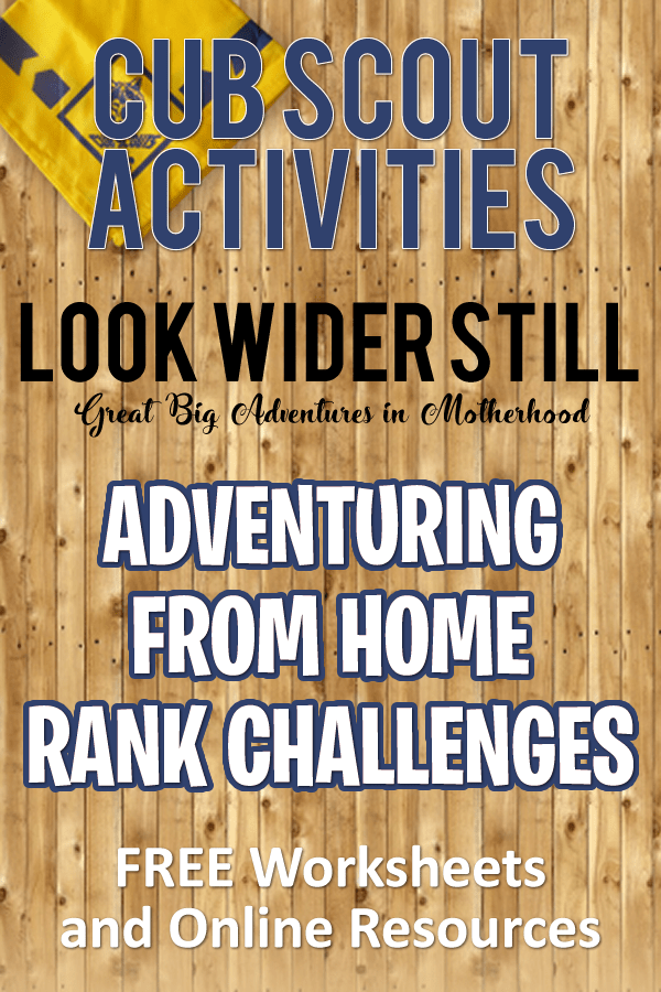 cub-scout-activities-adventuring-from-home-rank-challenges