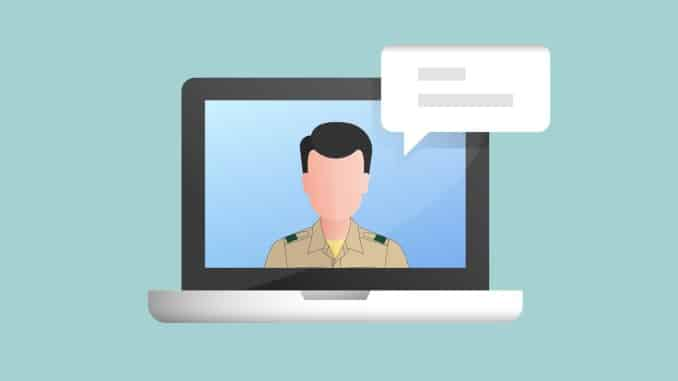 How to conduct a board of review through videoconferencing